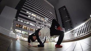 b-boy miyasy in SHINAGAWA