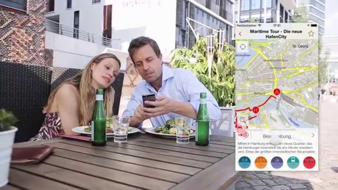 Hamburg tourismus app