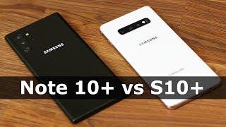 Galaxy Note 10 Plus (Pro) vs Samsung S10 Plus - Comparison