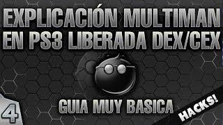 4- GUIA PS3 PIRATA: MANUAL BASICO MULTIMAN [EMULADOR DE JUEGOS]