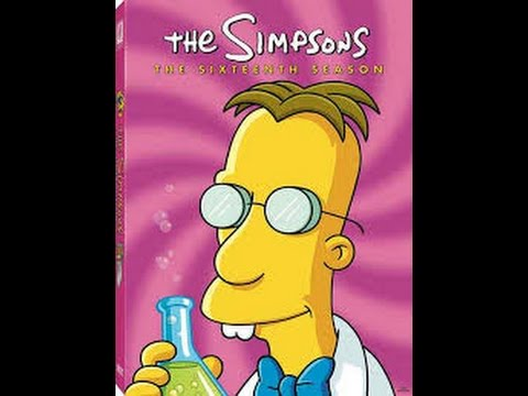 The Simpsons Season 16 DVD UNBOXING