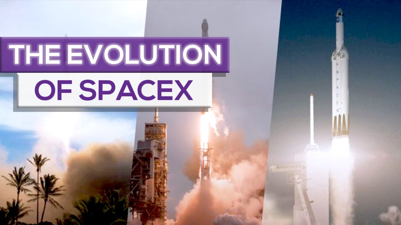 The Evolution Of SpaceX!