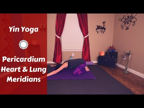 Yin Yoga for Heart, Lung & Pericardium Meridians {65 mins} Chest, Shoulder, Arm & Upper Back Opening