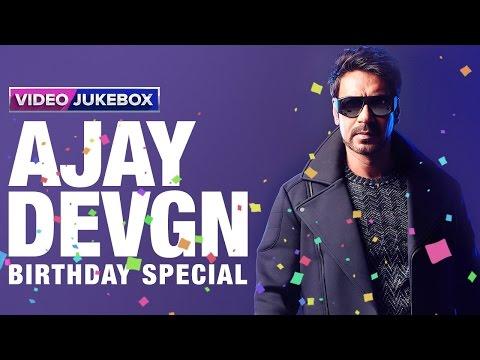 Ajay Devgn | Birthday Special | Video Jukebox