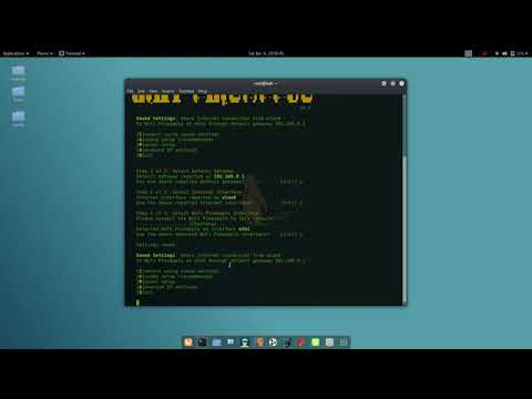 Connecting WiFi Pineapple Nano to Kali via WP6 sh running Bettercap
