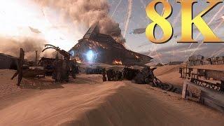 Star Wars Battlefront 8K Gameplay Titan X Pascal 3 Way SLI PC Gaming 4K | 5K | 8K and Beyond