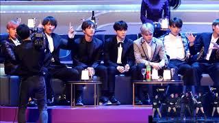 [HD Fancam] BTS Reaction ZICO  Eureka  Boys and Girls in MAMA HK
