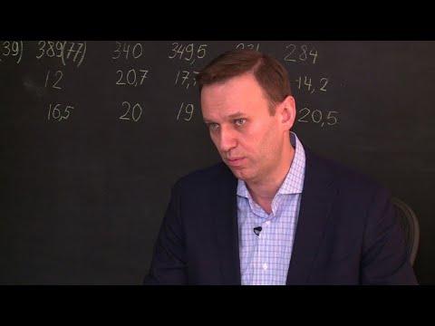 """Russie: Poutine veut devenir """"empereur à vie"""" (Navalny)"""
