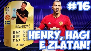 Henry, Hagi e Zlatan per la Weekend League! - FUT18 RTG ITA #16