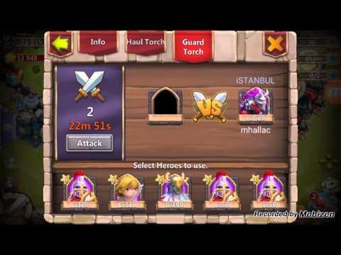 Castle Clash: Torch Battle
