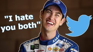 Keselowski and Logano React to Mean Tweets