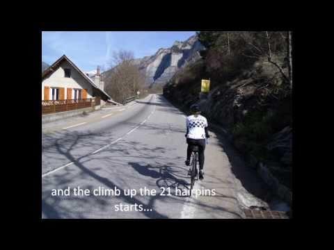 Alpe D'Huez Double Ascent Cycling