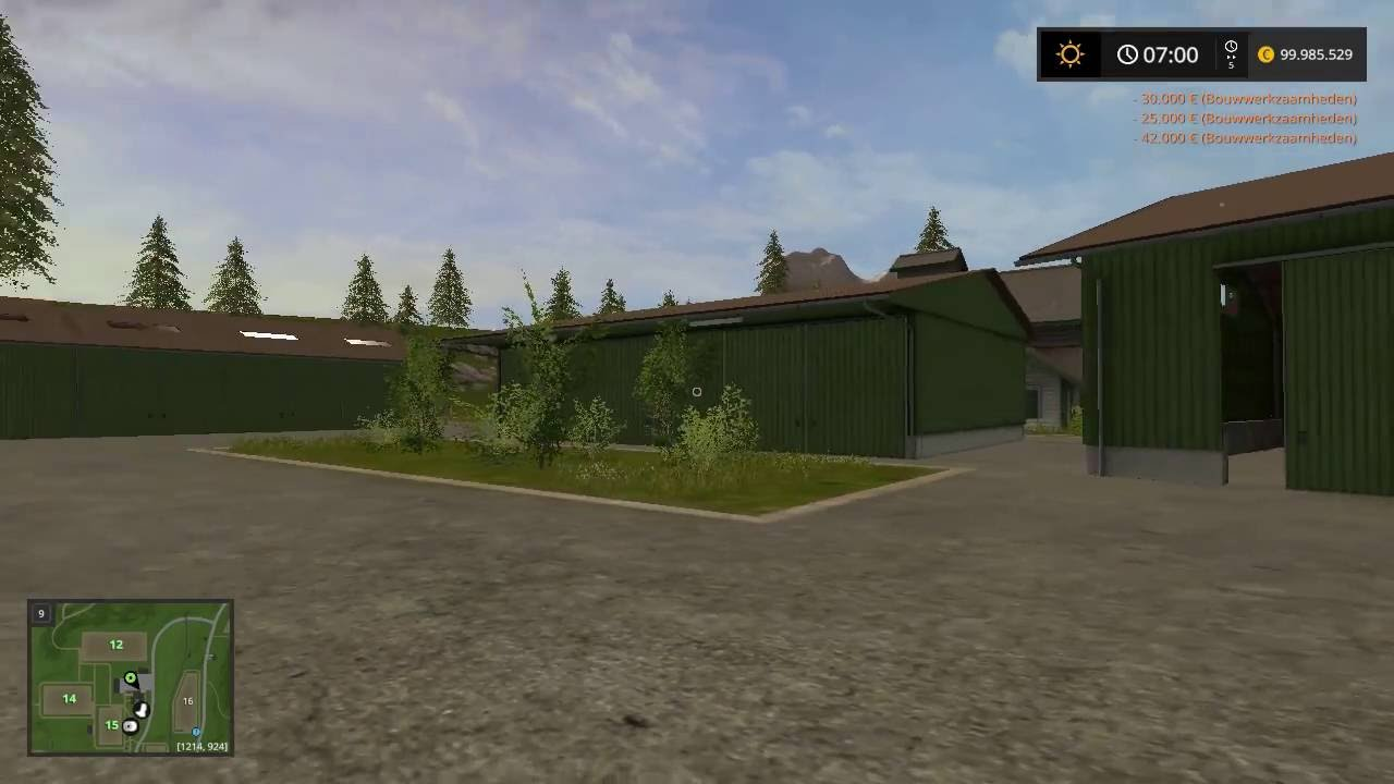 Farming Simulator 2017 Fs17 Shed Mod Package Youtube