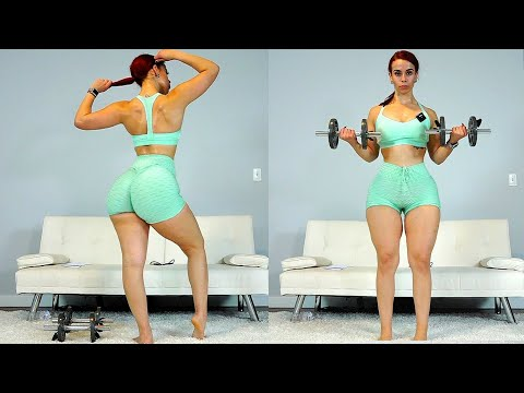 Full Body Bikini Ready Workout | Toned Arms, Butt, and Legs