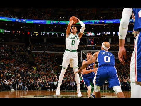 Best Of Jayson Tatum From The 2017 NBA Preseason