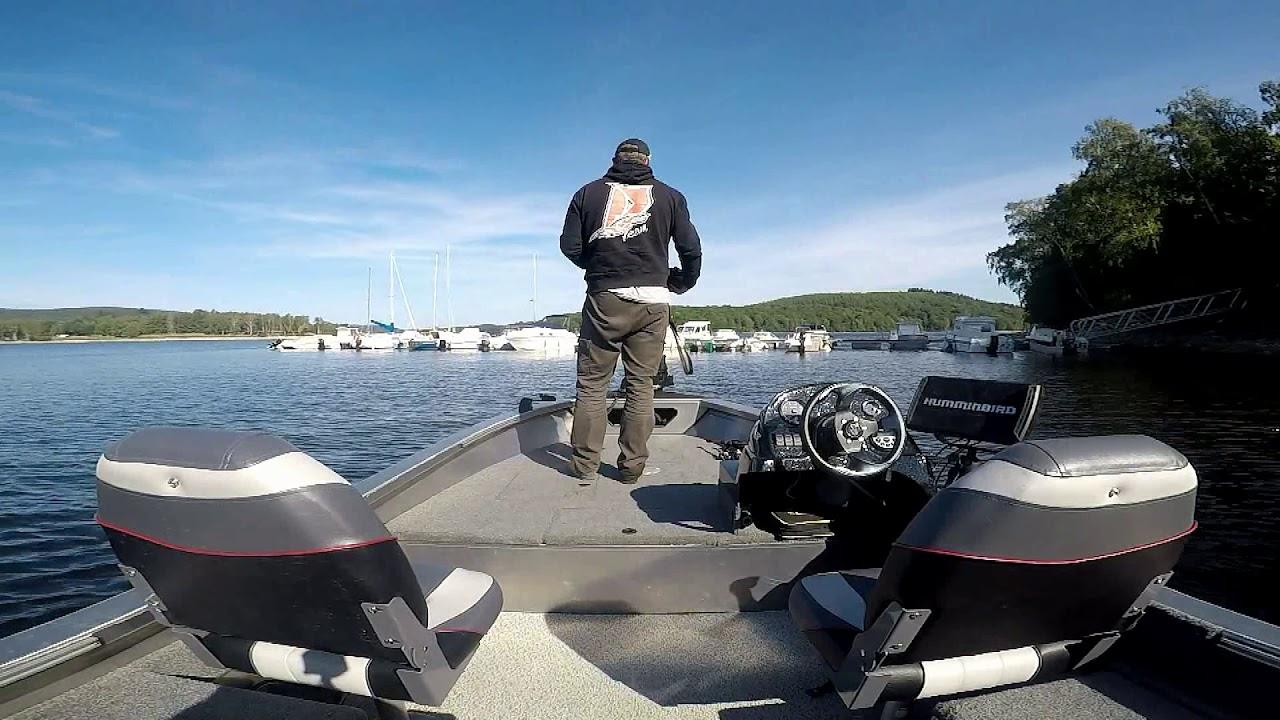 "Bass Boat Alu ""RiverLake Fish"" Guide 4m65 Fishing aventure HD"