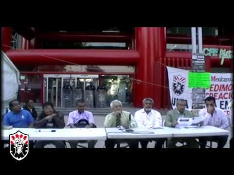 """Conferencia de Prensa Foro """"Hacia la construcción de una nueva Central Unitaria de Trabajadores"""""""