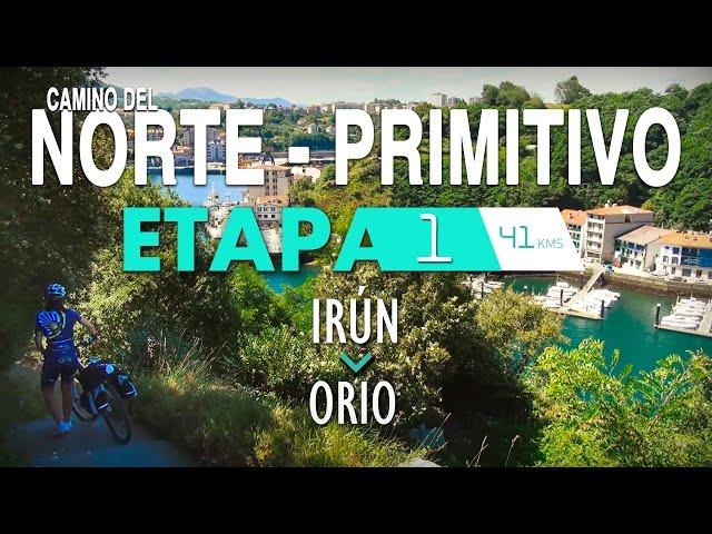 ETAPA1-CAMINO DEL NORTE - PRIMITIVO (CAMINO DE SANTIAGO)