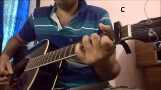 Iss Qadar Pyar Hai Guitar Lesson | Ankit Tiwari | Bhaag Johnny