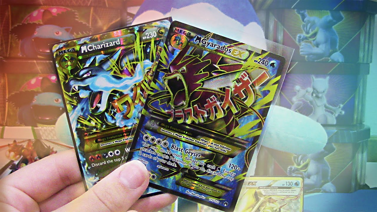 Mega charizard ex card secret rare