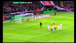 ronaldinho penalty miss against england