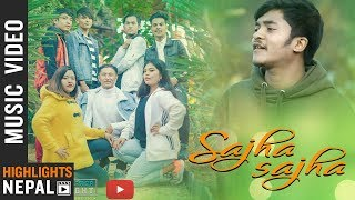 Sajha Sajha - John Chettri Ft. Deep Jyoti Dance Crew   Nepali Song 2075