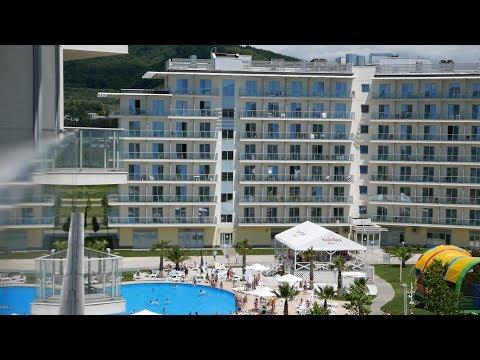 Сочи парк отель 3*, стандартный 2х местный номер, бывший Azimut Hotel Sochi