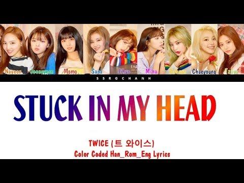 Chords For Twice 트와이스 Stuck In My Head Lyrics Color Coded