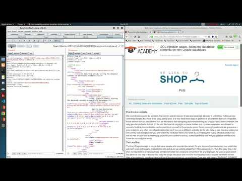 SQL Injection Attack, Listing The Database Contents On Non Oracle Databases (Video Solution)