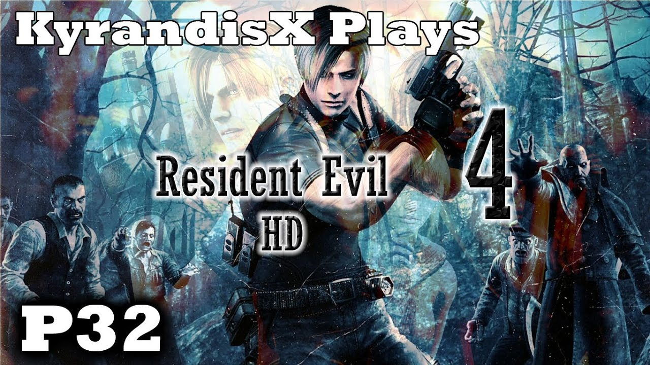 KyrX Plays: Resident Evil 4 HD  P32  Butterfly Lamp Owned. SON OF A BEETLE