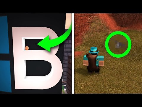 ROBLOX JAILBREAK ALL SECRET EASTER EGGS!