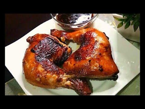 No grill Chicken Barbeque   Bbq flavored chicken   Fried Chicken
