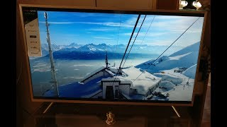 TCL L55P2MUS 55 Inch 4K / UHD Smart TV - First look, Review and Set-up