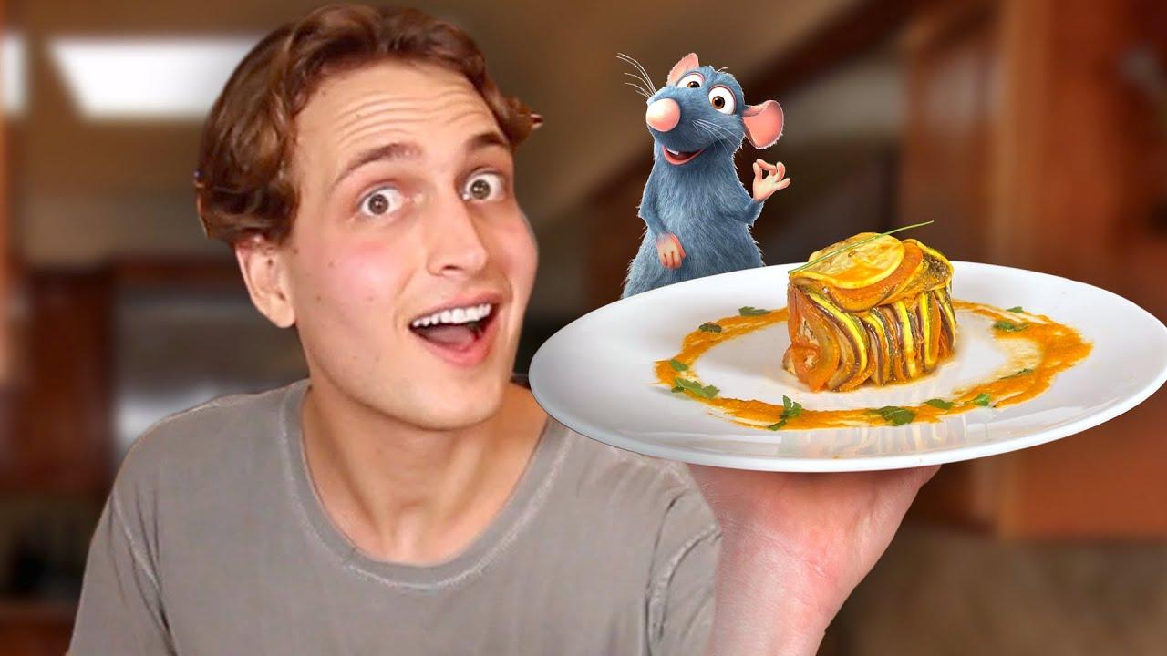 I Tried Making The Ratatouille from Ratatouille