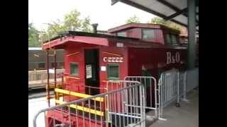 Caboose Tour at the B&O Railroad Museum