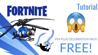 How to get the Fortnite Playstation Plus Celebration Pack for FREE (read desc)