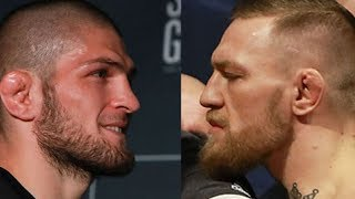 CONFIRMED: Conor McGregor and Khabib Will FACE OFF In Octagon!