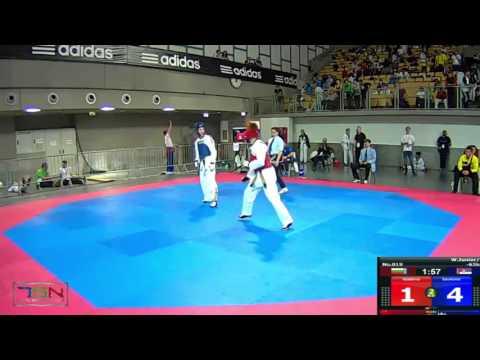 1019-Savkovic, Nadja  SERBIA NATIONAL TEAM (SRB) vs Vasileva, Lia  SC AHIL (BUL) 16-3