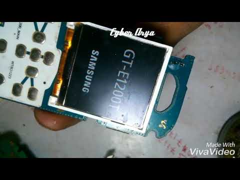How To Fix Samsung B310e Auto On White Display Screen Problem 100000