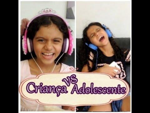 Criança vs  Adolescente parte II - Isabela Vaidosa