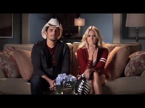 Balls Fly as Brad & Carrie Prep to Host the 2012 CMA Awards   CMA Awards 2012   CMA