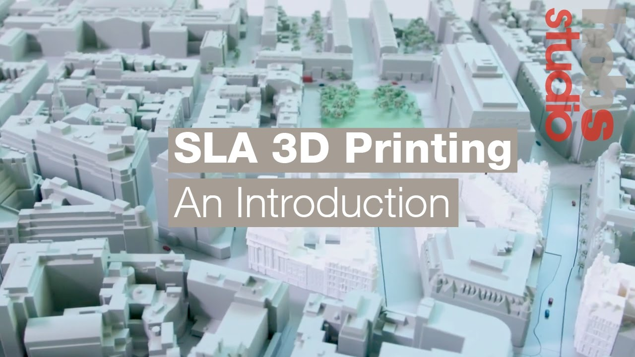 SLA 3D Printing - An Introduction