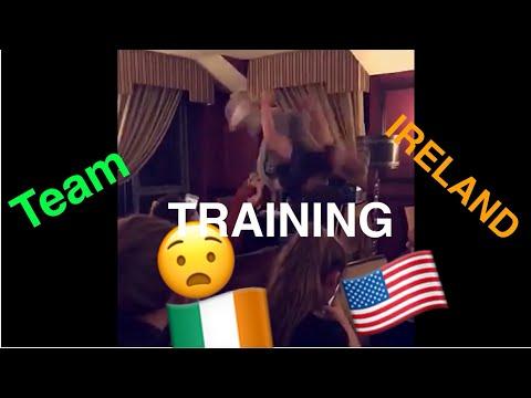 VLOG#23 TEAM IRELAND TRAINING (GETTING LOST IN DUBLIN TWICE)