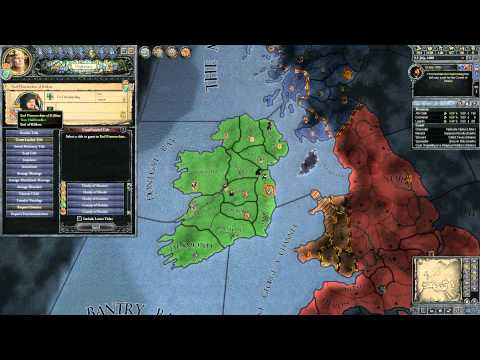 Crusader Kings 2 - Guide For Newbies - Part 11 - Ireland: Gr