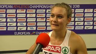 OT EM Berlin Alexandra Toth 100m