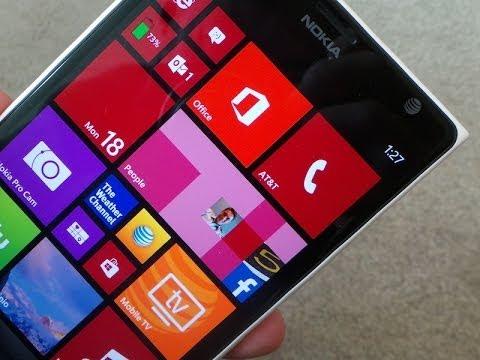 Nokia Lumia 1520 Unboxing