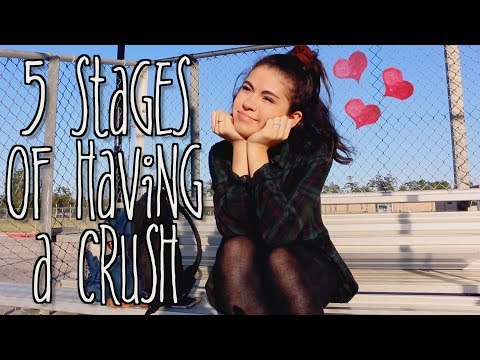 The 5 Stages of Having a Crush