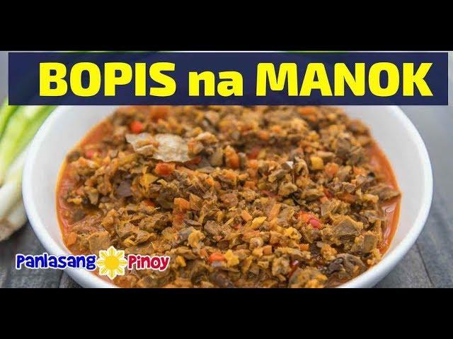 How to Cook Bopis na Manok