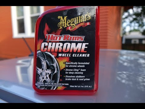 Don't use Meguiar's (or any)  chrome wheel cleaner on aluminum wheels. Harley Softail Custom