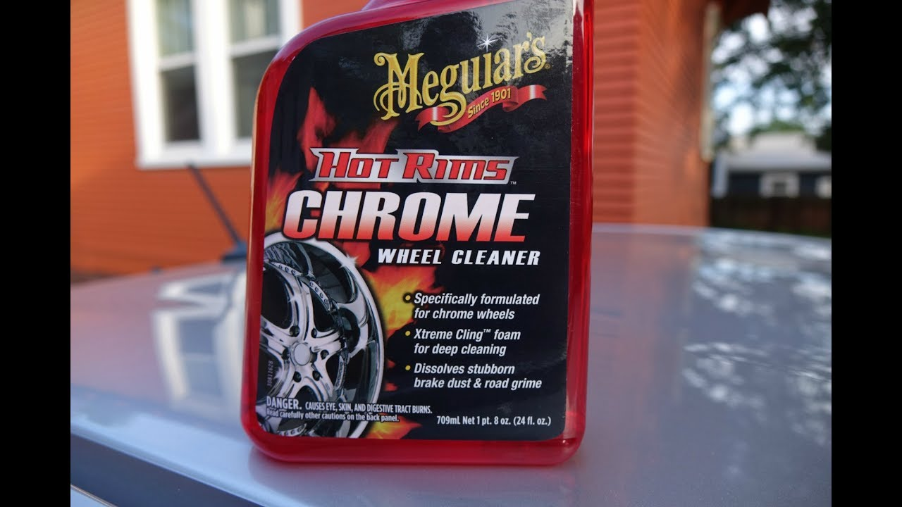 Don T Use Meguiar S Or Any Chrome Wheel Cleaner On